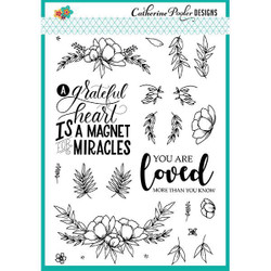 Catherine Pooler Clear Stamps, Grateful Heart - 819447021154
