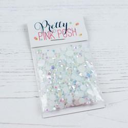 Pretty Pink Posh Jewels, Pearl White -