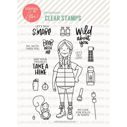 Essentials by Ellen Clear Stamps, Leading Ladies - Woodsy Lady by Brandi Kincaid -