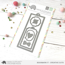 Mama Elephant Creative Cuts, Bookmark It -