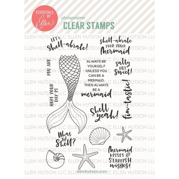 Essentials By Ellen Clear Stamps, Inner Mermaid By Julie Ebersole -