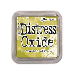 Ranger Distress Oxide Ink Pad, Crushed Olive -
