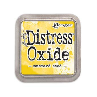Ranger Distress Oxide Ink Pad, Mustard Seed -