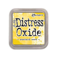 Ranger Distress Oxide Ink Pad, Mustard Seed -