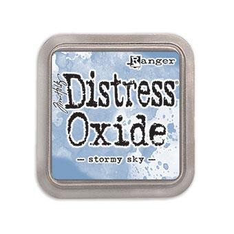 Ranger Distress Oxide Ink Pad, Stormy Sky -