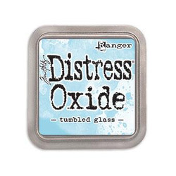 Ranger Distress Oxide Ink Pad, Tumbled Glass -