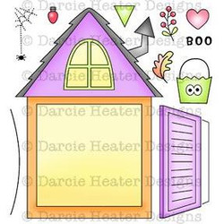 Darcie's Clear Stamps, Dormer Window -