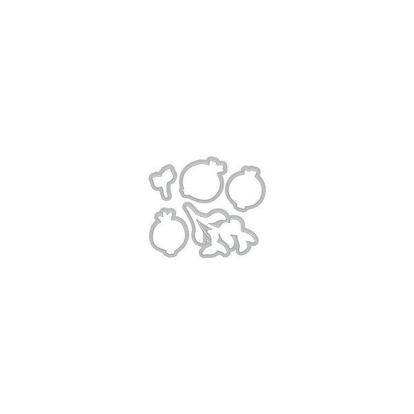 Hero Arts Dies, Color Layering Pomegranate - 857009182066