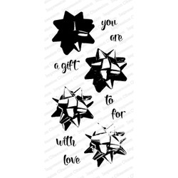 Impression Obsession Clear Stamps, Layered Bow -