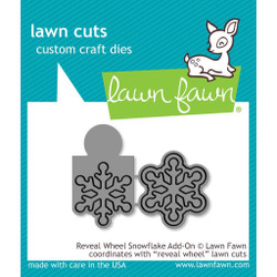 Reveal Wheel Snowflake Add-On, Lawn Cuts Dies - 352926712704