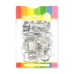 We Blend, Waffle Flower Stamp & Die Combo - 653341239334