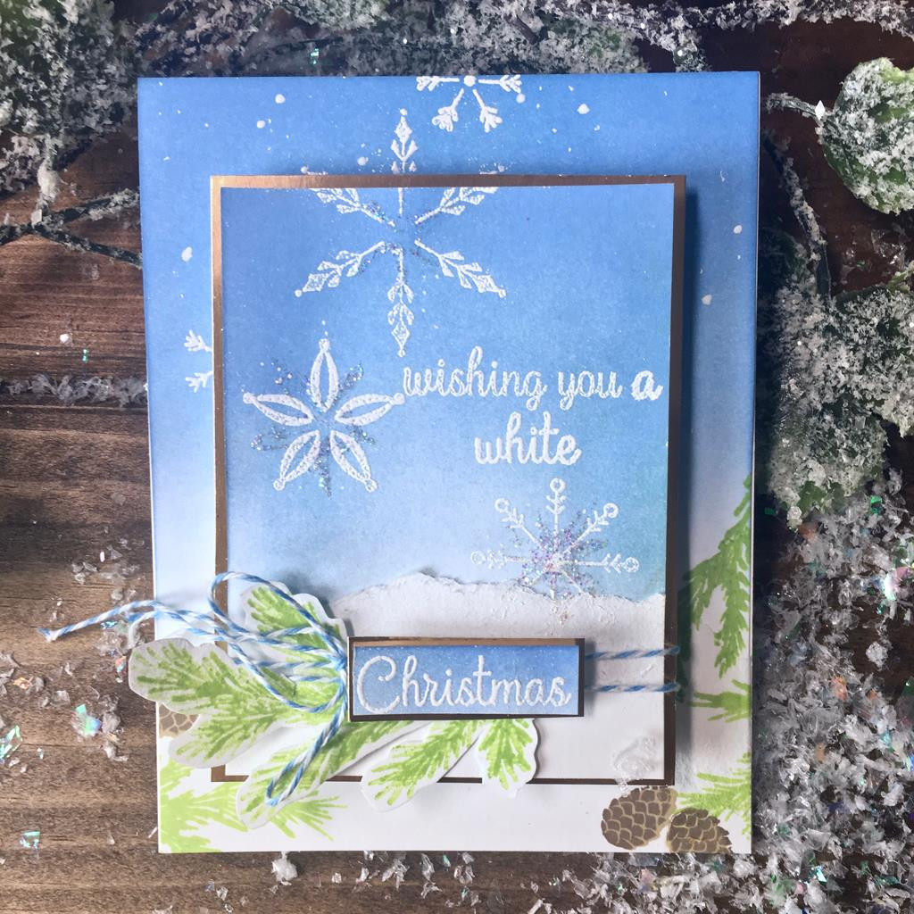 Stacking Snowflakes Hero Arts Clear Stamps