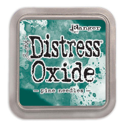 Ranger Distress Oxide Ink Pad, Pine Needles - 789541056133