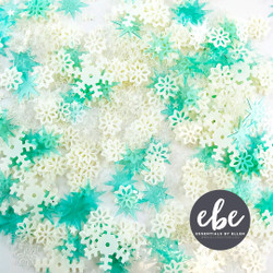 Snow Flurries Mix, Essentials by Ellen Embellishments -