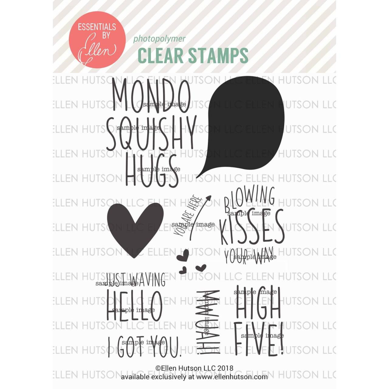 High Five By Julie Ebersole, Essentials By Ellen Clear Stamps -