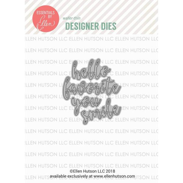 Letterboard Script 2, Essentials By Ellen Designer Dies -
