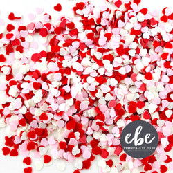 Tiny Hearts Valentine Sequin Mix, Essentials by Ellen Embellishments -