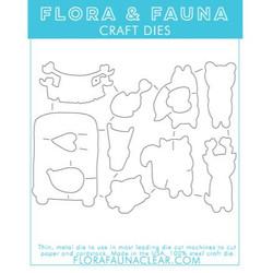 Critter Valentine, Flora & Fauna Dies - 725835782029