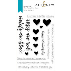 Love Letters, Altenew Clear Stamps - 704831296174