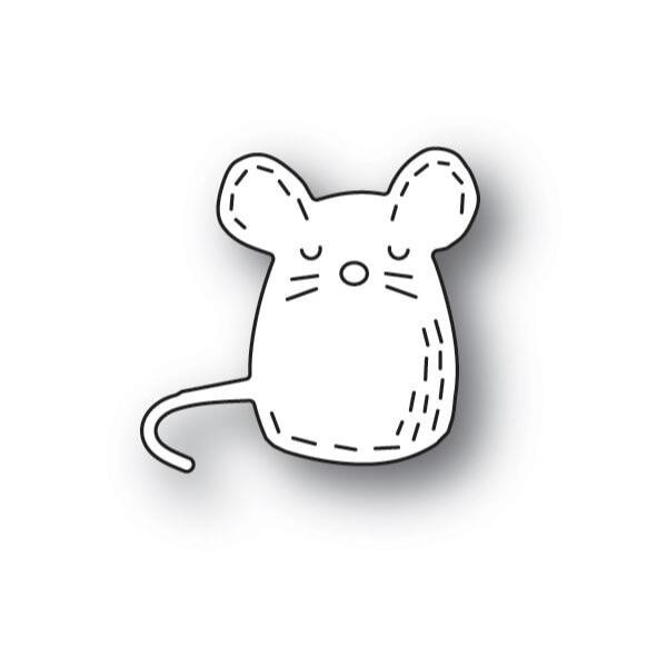 Whittle Mouse, Poppystamps Dies - 873980921531