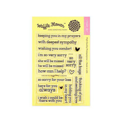 Here For You, Waffle Flower Clear Stamps - 653341246738
