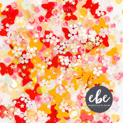 Butterfly Sequin Mix, Essentials By Ellen Embellishments -