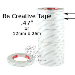 "Be Creative Tape, 12mm (1/2"") - 049008760448"