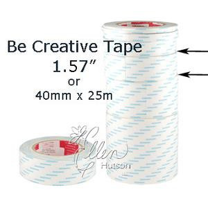 "Be Creative Tape, 40mm (1.5"") - 490087604862"