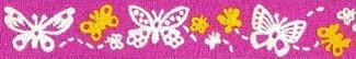 Butterflies Beastie Band Cat Collar