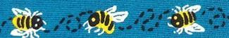 Buzzing Bees Beastie Band Cat Collar