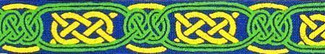 Celtic Knots Beastie Band Cat Collar