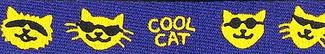 Cool Cat Beastie Band Cat Collar