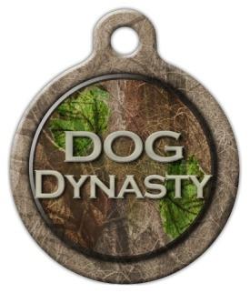 Dog Dynasty Dog ID Tag