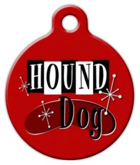 Hound Dog Dog ID Tag-Cat ID Tag