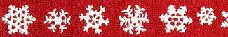 Holiday Snowflakes Beastie Band Cat Collar