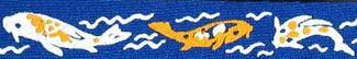 Koi Fish Beastie Band Cat Collar