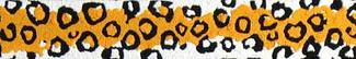 Leopard Spots Beastie Band Cat Collar