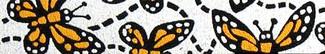 Monarch Butterfly Beastie Band Cat Collar