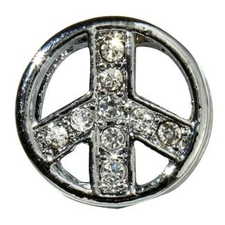 Peace Sign Slide Charm