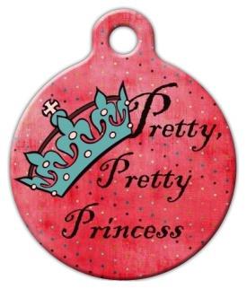 Pretty Pretty Princess Dog ID Tag-Cat ID Tag