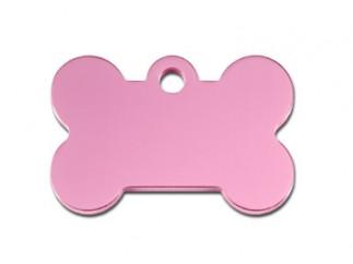 Small Pink Bone Cat ID Tag-Dog ID Tag