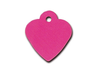 Small Pink Heart Cat ID Tag-Dog ID Tag