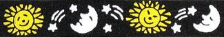 Sun, Moon and Stars Beastie Band Cat Collar