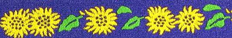 Sunny Sunflowers Beastie Band Cat Collar