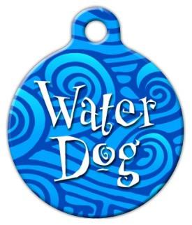 Water Dog Dog ID Tag