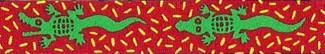 Alligator Beastie Band Cat Collar