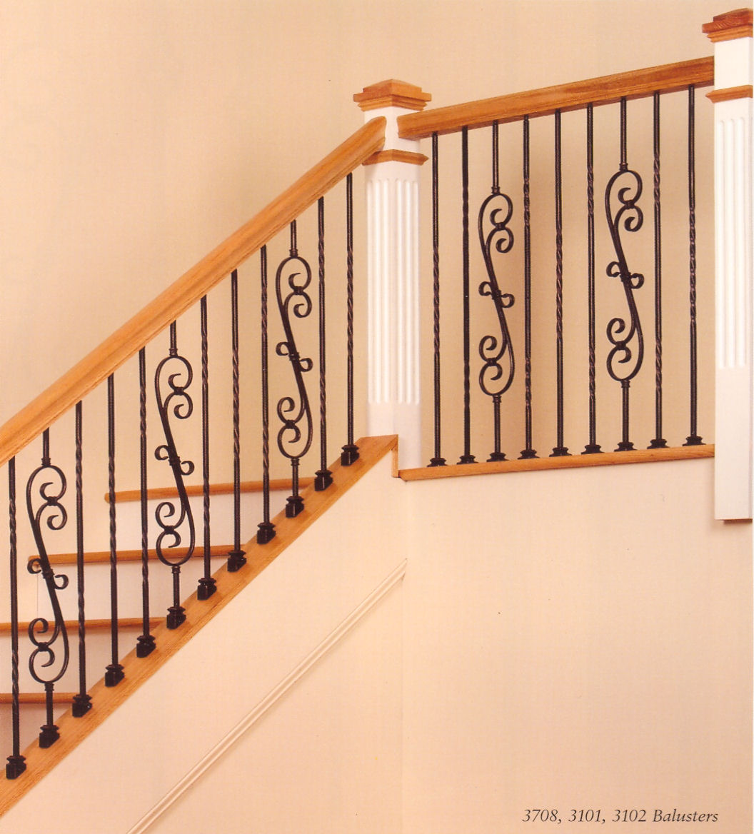 Knee Wall And Guardrail Hollow Crown Heritage Balusters