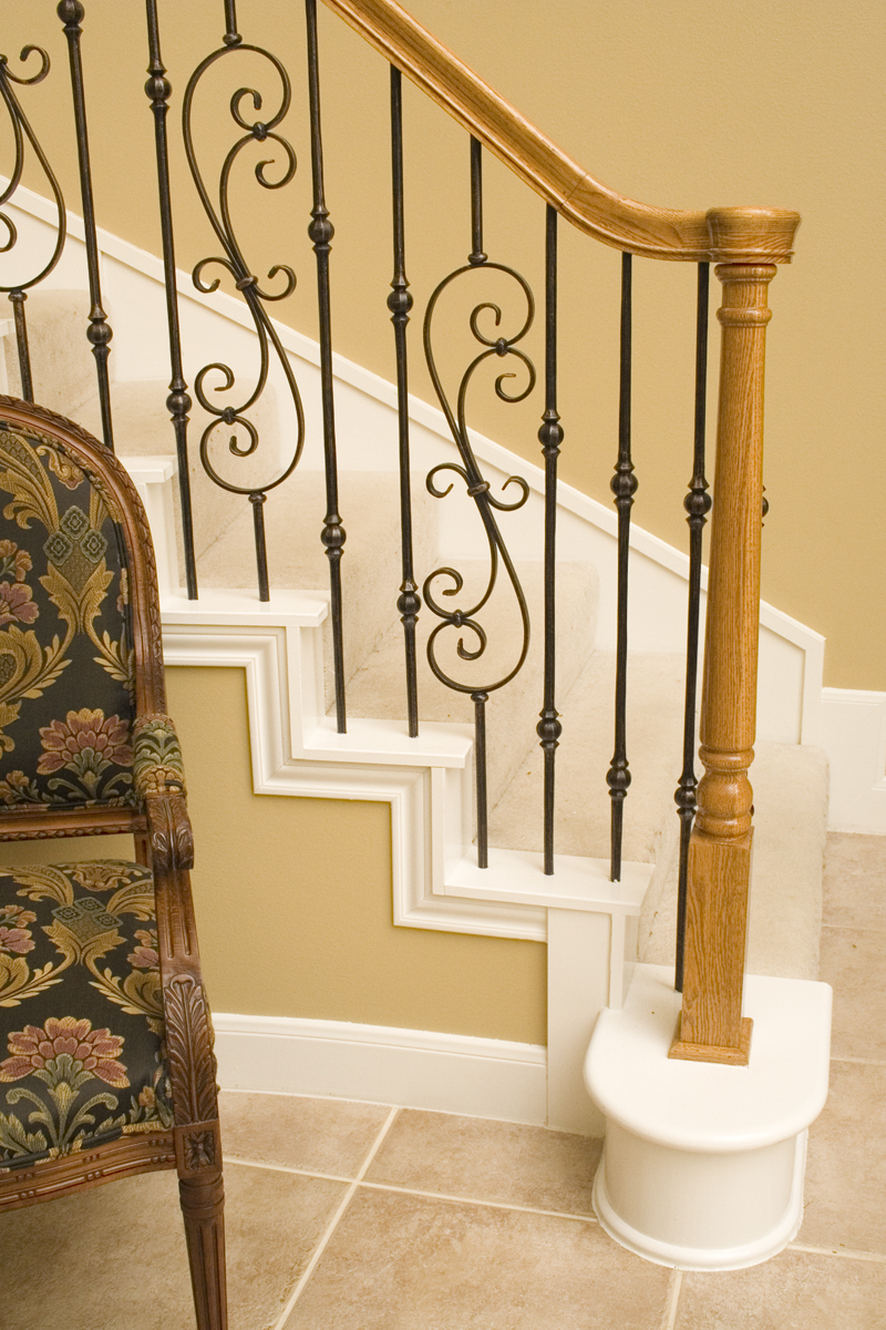 Tuscan Round Stair Gallery. Gallery Of Tuscan Round Iron Balusters.  Remodel After2
