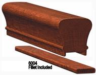 6010P Plowed Brazilian Cherry Handrail