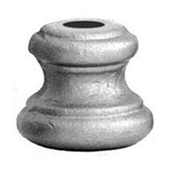 PC60/9 Round Shoe for 1/2-Inch Balusters